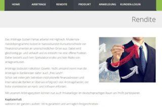 Farkas AG - Rendite Aussage