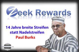 Paul Burks Gefängnis