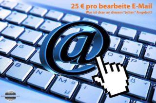 Für 25 Euro E-Mails bearbeiten