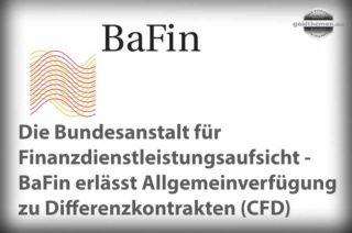 CFD Allgemeinverfügung der BaFin
