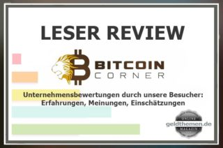 Bitcoin Corner Besucher-Reviews