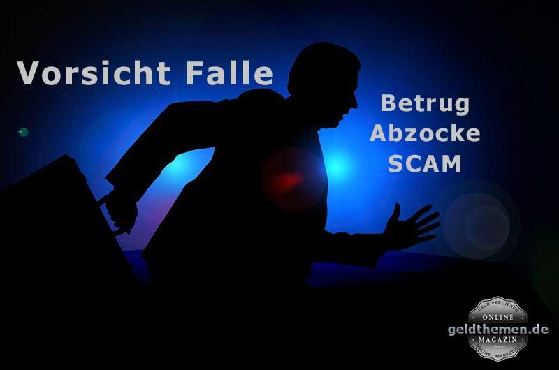 Betrug Abzocke Scam