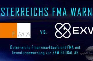 FMA Investorenwarnung zu EXW