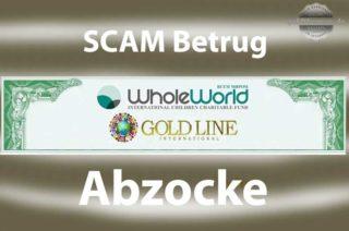 Goldline International - WholeWorld - Abzocke