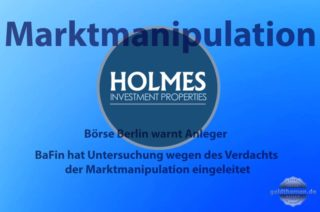 Holmes Investment Properties Warnung