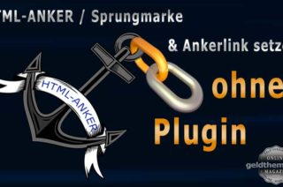 HTML-Anker, Ankerlink ohne Plugin
