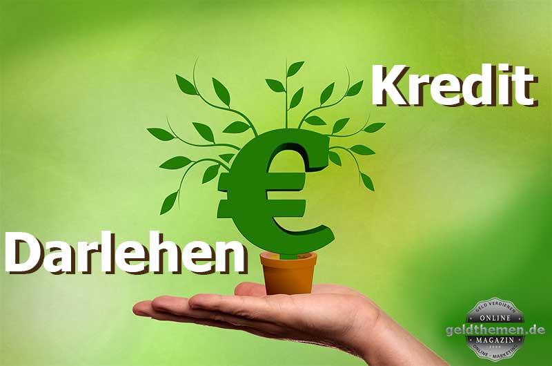 Kredit Darlehen Finanzierung