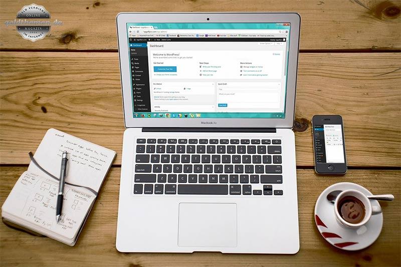 Webseite oder Blog erstellen