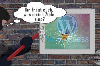 Wordpress-Sicherheit - Ziele der Angreifer